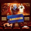 BlockBuster mixtape cover art