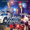 Major D-Star & Yella Fuckem - Young And Famous mixtape cover art
