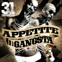 B.G. - Appetite Of A Gangsta mixtape cover art