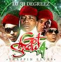 Got Snow, Part 4 (Trappin Elves) mixtape cover art
