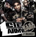 U.S.D.A. - CTE Army mixtape cover art