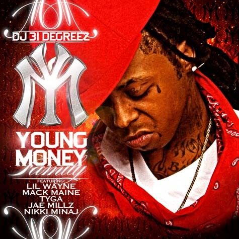 Young Money Lil Wayne View Mixtape Cover