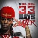 Burga - 33 Days Later mixtape cover art