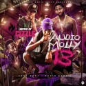Audio Molly 13 mixtape cover art