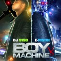 E-Pistol - Boy Vs. Machine mixtape cover art