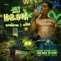 Jay Jizzle - Marijuana Inc. mixtape cover art