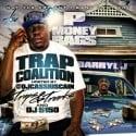 P.Money Bags & Darryl J - Trap Coalition mixtape cover art