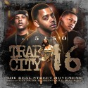 Trap City 16 mixtape cover art