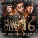 Trap City 16 mixtape cover art