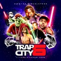 Trap City 6 mixtape cover art
