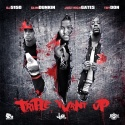 Triple Turnt Up (Slim Dunkin, Just Rich Gates & Tay Don) mixtape cover art
