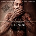 808 Mafia - Free Agent mixtape cover art