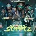 I Am The Streetz mixtape cover art