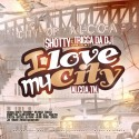 I Love My City mixtape cover art