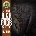 JT HSE - Rich Mind Poor City mixtape cover art