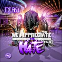 We Appreciate The Hate 30 mixtape cover art