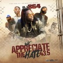 We Appreciate The Hate Vol. 43.5 mixtape cover art