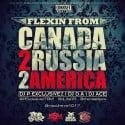 Flexin From Russia 2 Canada 2 America  mixtape cover art