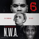 N.W.A 6 mixtape cover art