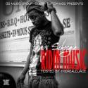 Schoogie - Ridin Music mixtape cover art