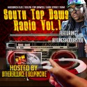 South Top Dawg Radio mixtape cover art