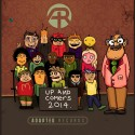 Up & Comers 2014 mixtape cover art