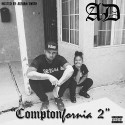AD - ComptonFornia 2 mixtape cover art