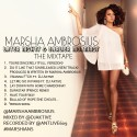 Marsha Ambrosius - Later Nights & Earlier Mornings mixtape cover art