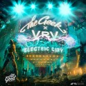 The Geek x Vrv - Electric City EP mixtape cover art