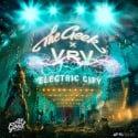 The Geek x Vrv - Electric City EP mixtape cover art