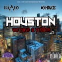 Houston We Have A Problem mixtape cover art