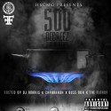 500 Degreez mixtape cover art