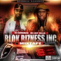 Blok Bizness Inc Mixtape mixtape cover art