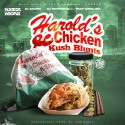Keez Moni - Harold's Chicken & Kush Blunts mixtape cover art