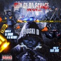 Leoski D - City Of The Savage mixtape cover art