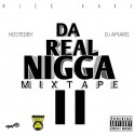 Nick Barz - Da Real Nigga Mixtape 2 mixtape cover art