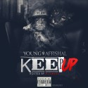 Young Affishal - Keep Up mixtape cover art