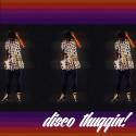 Disco Thuggin mixtape cover art