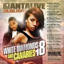 White Diamonds & Canaries, Vol. 18 mixtape cover art