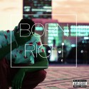 Cardell Flare - Born Rich mixtape cover art