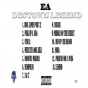 EA - DecTown Legend mixtape cover art