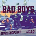 Jcar & SpaceCoopLuke - Bad Boys Vol. 1 mixtape cover art