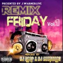 JWarnerLive - Remix Friday mixtape cover art