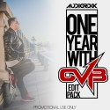 One Year With CVB Edit Pack mixtape cover art