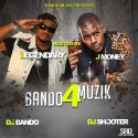 Bando Muzik 4 (Hosted By J Money) mixtape cover art