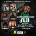 Da Underground Files (Hosted By Lamarley Damartian) mixtape cover art