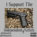I Support The Independent Artists 3 mixtape cover art