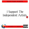 I Support The Independent Artists 6 mixtape cover art