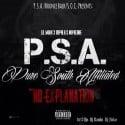 P.S.A. - No Explanation mixtape cover art
