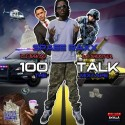 Spaee Raxx - 100Talk Tha Mixtape mixtape cover art